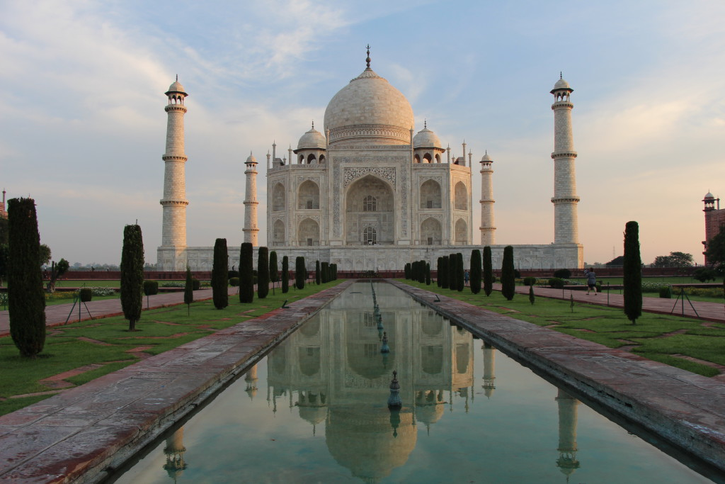 Taj Mahal-Agra-India Norte