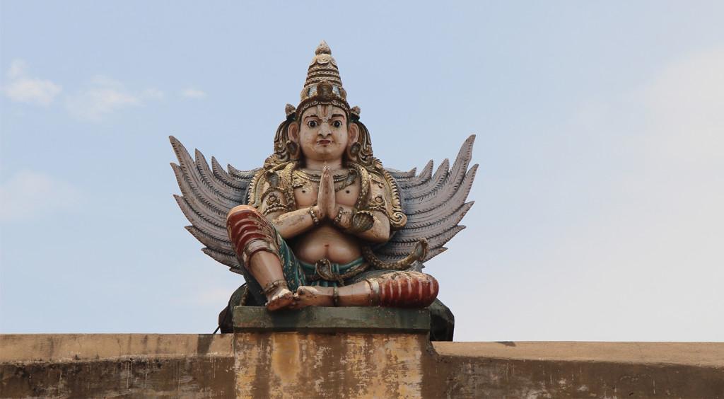India Sur - Srirangam - Garuda