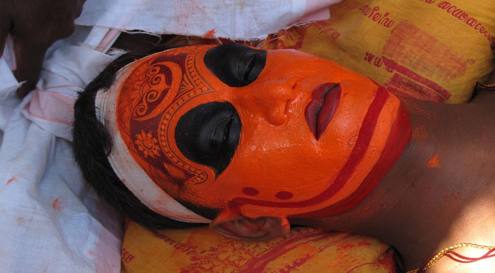 Theyyam make up