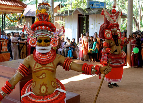 Theyyam parassini
