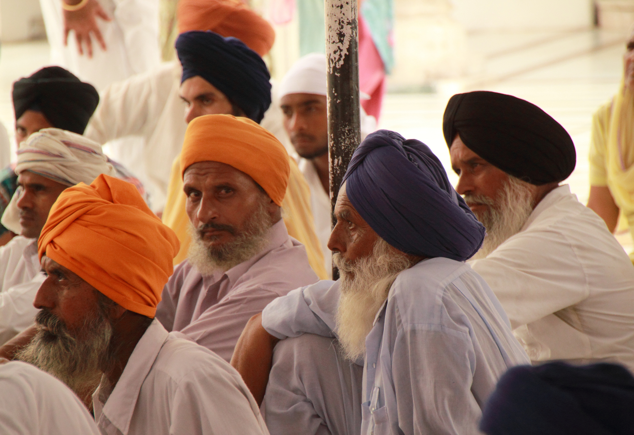 Golden Temple pilgrims