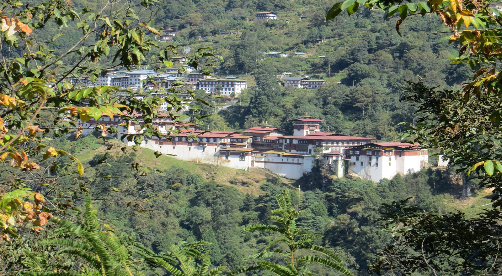 Trongsa Dzong - Fatima Coms
